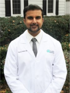Dr. Parth Parekh is a sedation and dental implant dentist near Raleigh, NC.